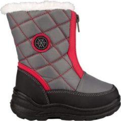 Winter-grip - Snowboots - Meisjes - Grijs/Rood - Maat 29