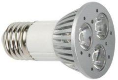 Velleman VELLIGHT 1+1 Gratis - 3W Ledlamp - Warm Wit (2700K) - 230V - E27 - 45°