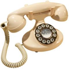 Creme witte GPO Retro GPO 1922 Retro Vaste Telefoon Druktoets - modem aansluiting