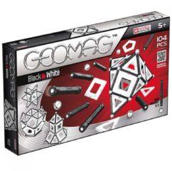 Zwarte Selecta Spel en Hobby Geomag Panels Black&White 104 delig