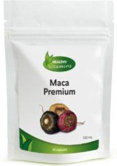 Healthy Vitamins Maca Premium capsules - met Rode, Zwarte en Gele Maca poeder