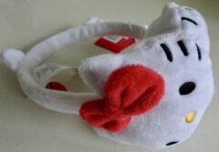 Suncity Witte oorwarmers van Hello Kitty, oortjes