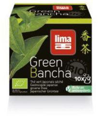 Lima groen bancha thee builtjes 10 Stuks