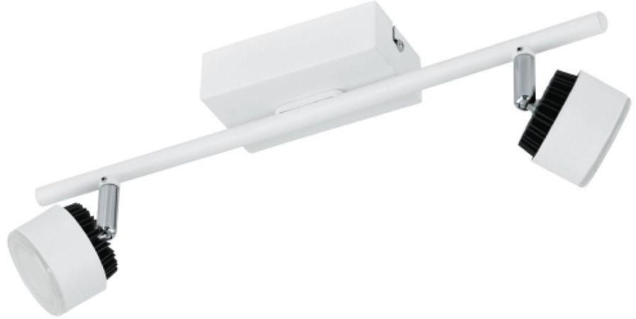 Afbeelding van Witte EGLO Armento - Spot - 2 Lichts - Wit, Zwart