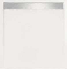 Witte Beterbad Xenz Douchebak vierkant zelfdragend Easy Tray 100x100x5cm (Met mat of glans gootcover)
