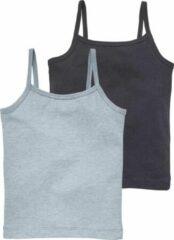 HEMA 2-pak Kinderhemden Donkerblauw (donkerblauw)