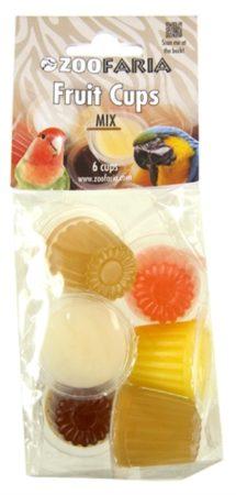 Afbeelding van Gebr. de Boon Back Zoo Nature zak a 6 fruitcup mix