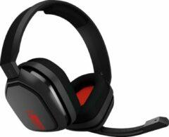 ASTRO Gaming ASTRO A10 Lichtgewicht Gaming Headset met ASTRO Audio en Dolby Atmos, schadebestendig - Zwart/Rood