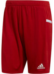 Rode Korte Broek adidas TEAM19 Knit Short