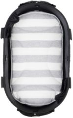 Airbuggy mat voor dome2 m streep grijs / wit 65x31 cm