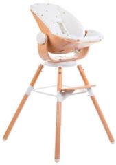 Witte Childhome Kinderstoelkussen Gouden Stippen Evolu Newborn Jersey