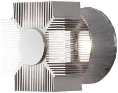Konstsmide Monza 7943-310 Buiten LED-wandlamp Energielabel: LED (A++ - E) 3 W Warm-wit Aluminium