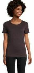 Bordeauxrode T-shirt Korte Mouw Sols LUCAS WOME