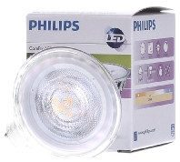 Philips LED-lamp Energielabel A+ (A++ - E) GU10 Reflector 4 W = 35 W Warmwit (Ã x l) 50 mm x 53 mm Dimbaar 1 stuk(s)