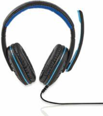 Nedis Gamingheadset | Over-ear | Microfoon | 3,5 mm connectoren [GHST100BK]