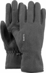 Antraciet-grijze Barts Fleece Gloves Unisex Handschoenen - Anthracite - Maat XS