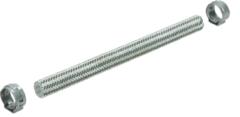 Tefal Schlauch 13 cm + 2 Spannringe für Bügeleisen CS00092026