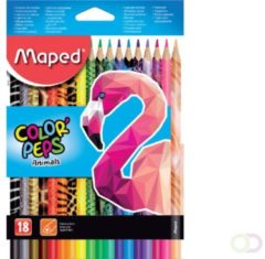 Maped Office Kleurpotlood maped color'peps dieren