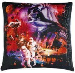 Disney Star Wars Kussen Jongens Zwart 34 X 34 X 11 Cm