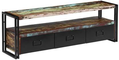 Afbeelding van VidaXL Tv-meubel 120x30x40 cm massief gerecycled hout