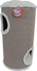 De Boon - Katten Klimton Sisal 2-Gaats - 75cm - Taupe/Beige