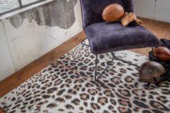 Grijze Floor Panter Bruin 200x290