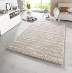 Taupe Mint rugs Hoogpolig Modern Vloerkleed Nova 102606 80x150 cm