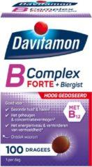 Davitamon Vitamine B-Complex Forte met Biergist Voedingssupplement - 100 Tabletten