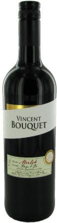 Afbeelding van Vincent Bouquet Merlot, 2019, Pays d'Oc, Frankrijk, Rode Wijn
