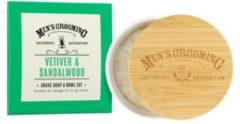 The Scottish Fine Soaps Company Vetiver & Sandalwood Scheerzeep Kom Gezichtsverzorgingsset 1 pieces