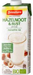 Zonnatura Rijst hazelnoot drink 1000 Milliliter