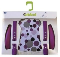 Paarse Qibbel Q514 - Stylingset Luxe Voorzitje - Dots Purple