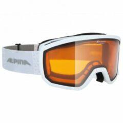 Alpina - Scarabeo S Doubleflex Hicon S2 - Skibril grijs/oranje/bruin