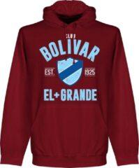 Retake Club Bolivar Established Hoodie - Bordeaux Rood - S
