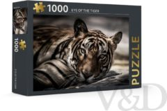 Rebo Productions Legpuzzel Eye Of The Tiger 1000 Stukjes