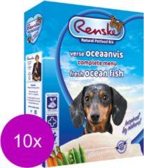 Renske Vers Vlees - Hondenvoer - Vis - 10 Kuipjes - 395 gr