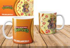 Oranje AAA+ Mok The Ninja Turtles Michelangelo