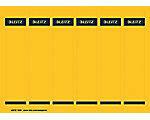 Leitz Ordnerrugetiketten A4 Geel 25 Vellen à 6 Etiketten 3,9 x 19,2 cm