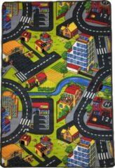 Dywanik Speelkleed - Verkeerskleed - speeltapijt - Stratentapijt - Smart City 100 x 150 cm - Design 11