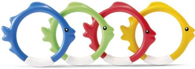 Afbeelding van Onderwaterspeelset. Intex fish rings: set van 4