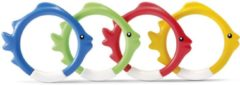 Onderwaterspeelset. Intex fish rings: set van 4