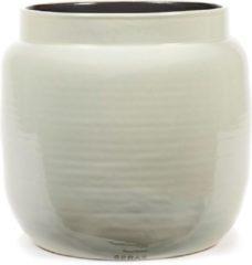 Serax Bloempot Grijs-Lichtgrijs D 32 cm H 28 cm