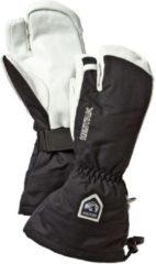 Hestra - Army Leather Heli Ski 3 Finger - Handschoenen maat 9, zwart/wit/grijs