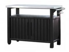 "Grijze ""Keter BBQ Entertainment Storage XL """