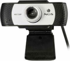 NGS XpressCam720 webcam 1280 x 720 Pixels USB 2.0 Zwart, Grijs, Zilver