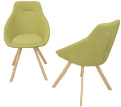 Stuhl (2Stück) Charlotte Möbel-Direkt-Online grün