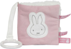 Roze Tiamo Collection Buggyboekje nijntje pink baby rib