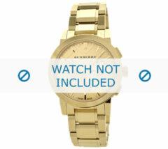 Gouden Burberry horlogeband BU9753 Staal Goud
