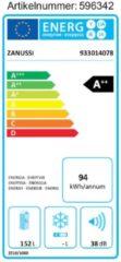 Zanussi ZRG16602WA Kühlschrank, A++ Zanussi Weiß