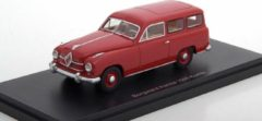 Rode Scale Models Borgward 1500 Hansa Kombi red 1:43